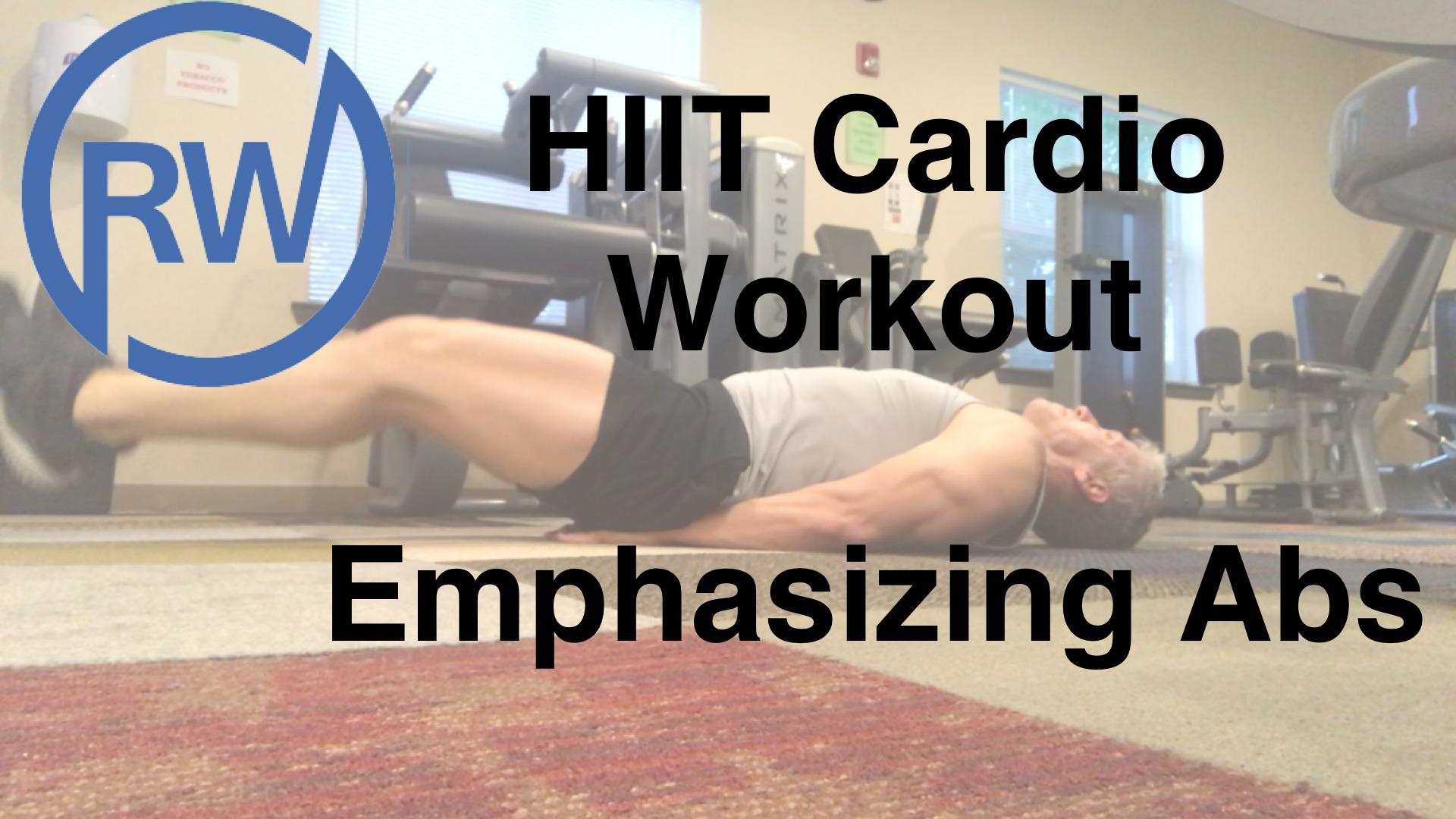 HIIT Cardio Work Emphasizing Abs